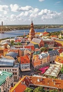 Piękna Estonia z lotu ptaka