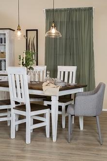 stół i krzesła w skandynaws...