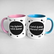kubek na kawę dla żony i na...