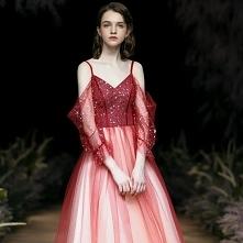 Moda Gradient-Kolorów Czerw...