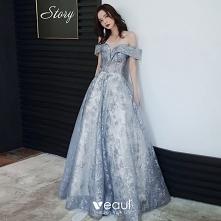 Uroczy Błękitne Sukienki Wi...