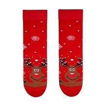 Skarpety świąteczne męskie - Renifer