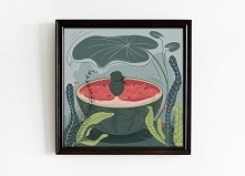 Watermelon - plakat 30x30
