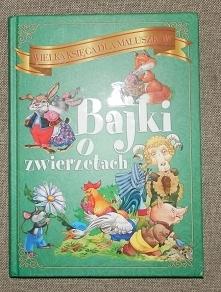 Witam serdecznie mam do sprzedania nową  Wielka Księga dla Maluszków Bajki o zwierzętach Wydawnictwo: Elżbieta Jarmołkiewicz Liczba stron: 255 Wymiary: 21,5 cm x 30 cm  Bogato i...
