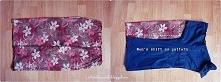 bluzka ze spódnicy diy