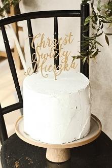 Spersonalizowany cake toppe...