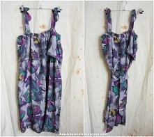 jak zrobić wykrój sukienki
