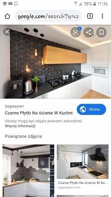 czarne plytki w kuchni
