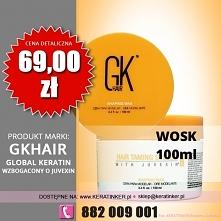 Global Keratin GKhair wosk do wlosow 100ml shaping wax sklep warszawa walendó...