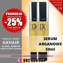 Promocja Global Keratin GKhair serum arganowe 50ml argan oil sklep warszawa w...