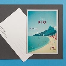 Rio de Janeiro - retro pocz...
