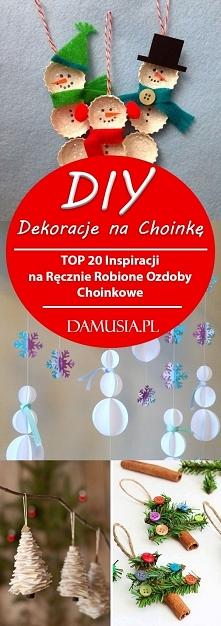 DIY Dekoracje na Choinkę – ...