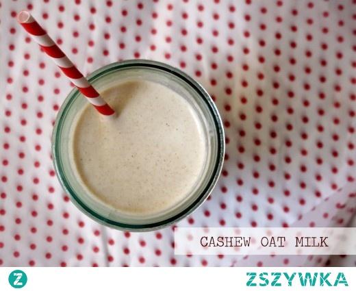 Mleko orzechowo-owsiane z cynamonem