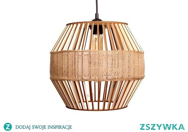 Lampa Spool designerska naturalna