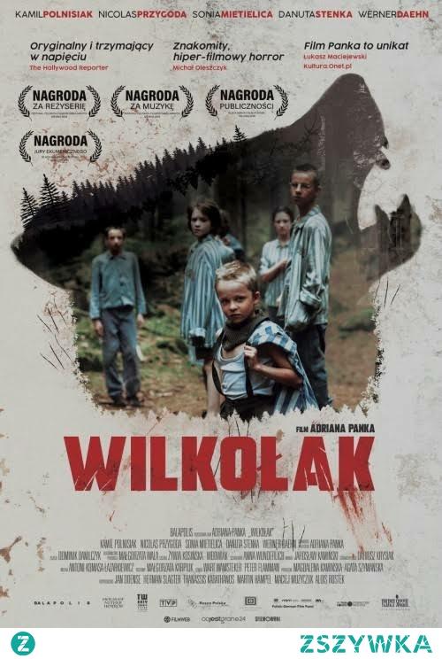 Wilkołak *** Rok 1945, dzieci wyzwolone z obozu koncentracyjnegoGross Rosen, przebywają w położonym w lesie sierocińcu, zaadaptowanym po starym pałacu, który został otoczony przez wygłodniałe wilczury. Dziećmi opiekuje się dwudziestoletnia więźniarka Hanka.