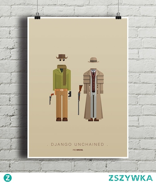 Django Unchained  - plakat