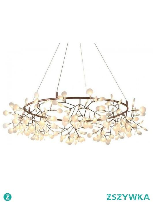Lampa Wisząca Flora 100 cm Miedziana - LED