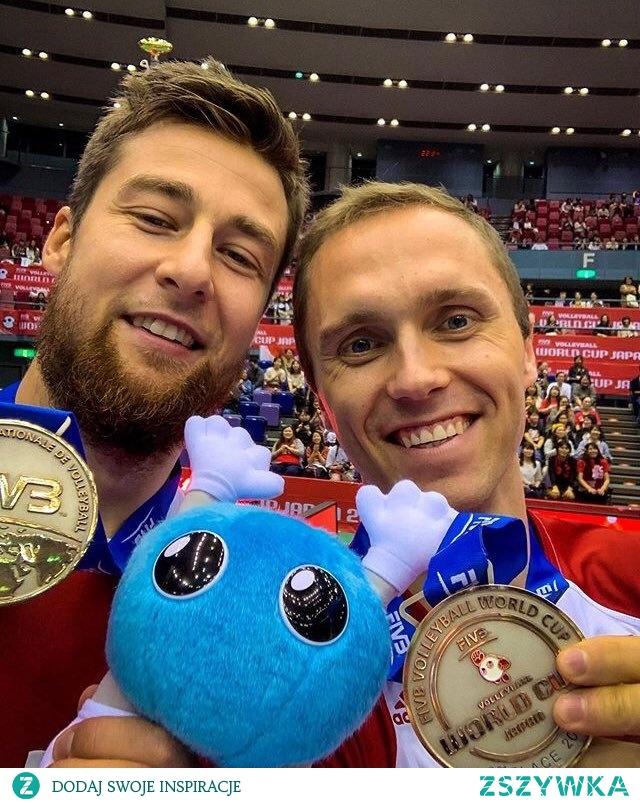 15.10.2019 - siatkarze SREBRNYMI medalistami Pucharu Świata! Wygrali dziewięć spotkań i ponieśli tylko dwie porażki (z Brazylią i USA). Oni są niesamowici!!