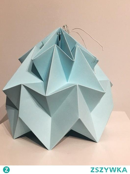 Abażur klosz Origami Biały origamilamp papier