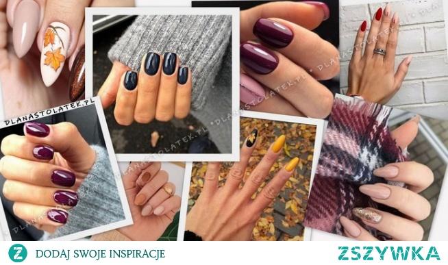TOP propozycje na jesienne paznokcie!