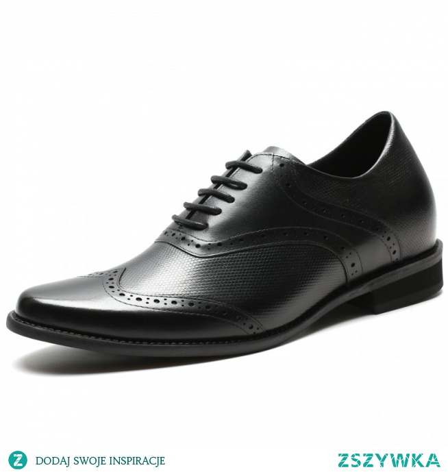 Height increasing shoes with braided leather vamp and heel cap - attention to detail and excellent material.