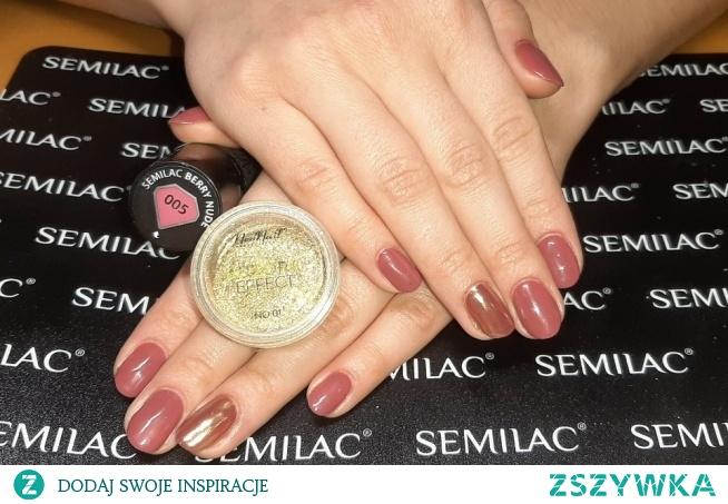 Semilac 005, Neonail Aurora effect 04
