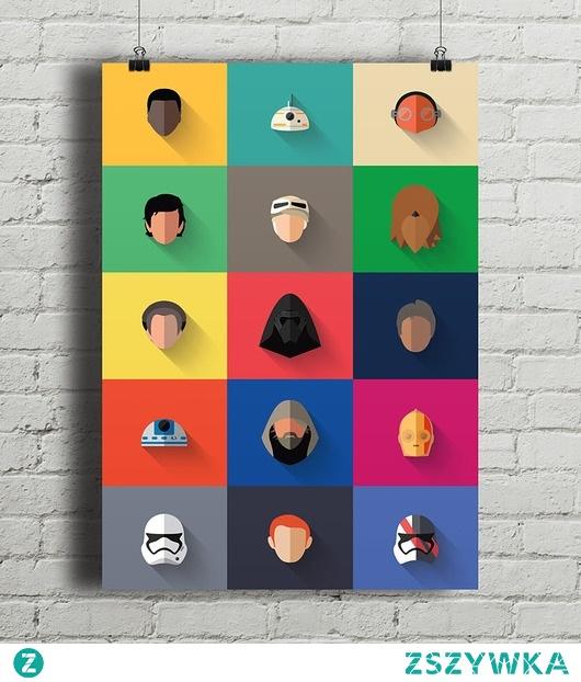 Star Wars - New Icon Set - plakat giclee