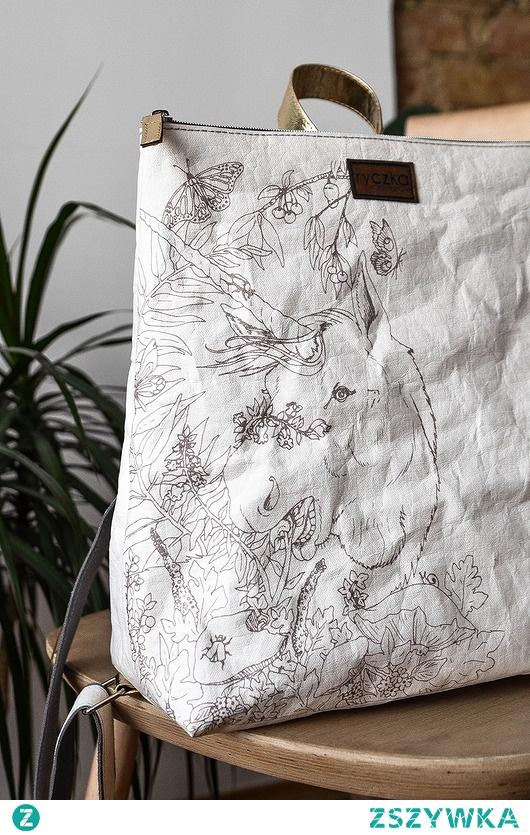 Plecak z papieru [jednorożec]  BACKPACK