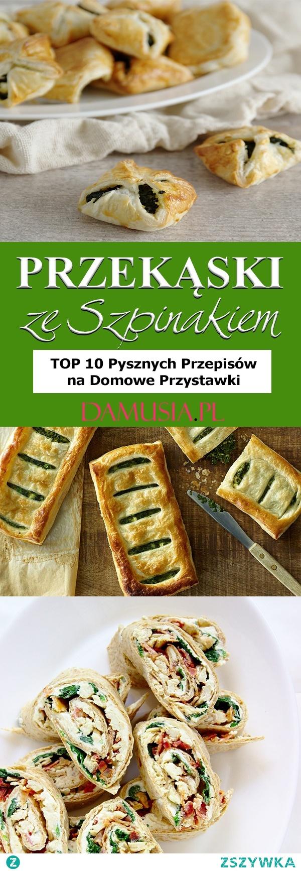 Przekąski ze Szpinakiem – TOP 10 Pysznych Przepisów na Domowe Przystawki
