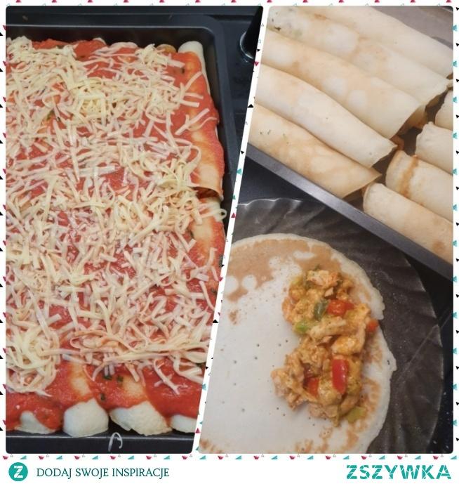 Zapiekane naleśniki :) propozycja na obiad