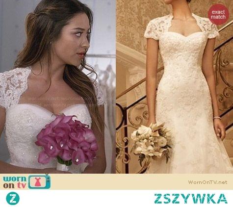 pretty little liars emily wedding dress