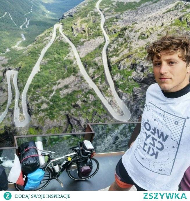 KUPON RABATOWY -10% DO WYKORZYSTANIA NA STRONIE SZWENDAMSIE. PL: ZSZYWKA Mateusz w naszym Włóczykiju śmiga rowerem po Skandynawii, m.in. dojechał na przylądek Nordkapp i zahaczył o Lofoty! Dzięki i powodzenia @mateusz.pulkowski :) #norwegia #norway #visitnorway #drogatrolli