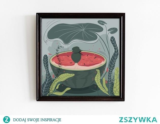 Watermelon - plakat 30x30