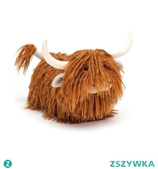 Maskotka Przytulanka Krowa Górska 31cm