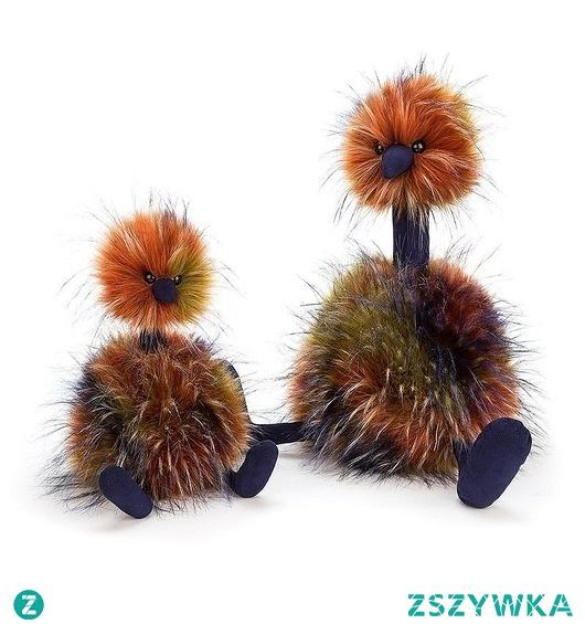 Maskotka Przytulanka Struś Spicy 33 cm