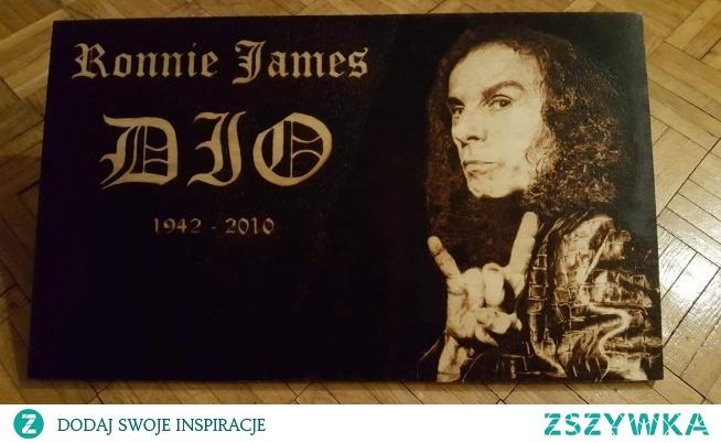 Ronnie James - Sklejka 50x30