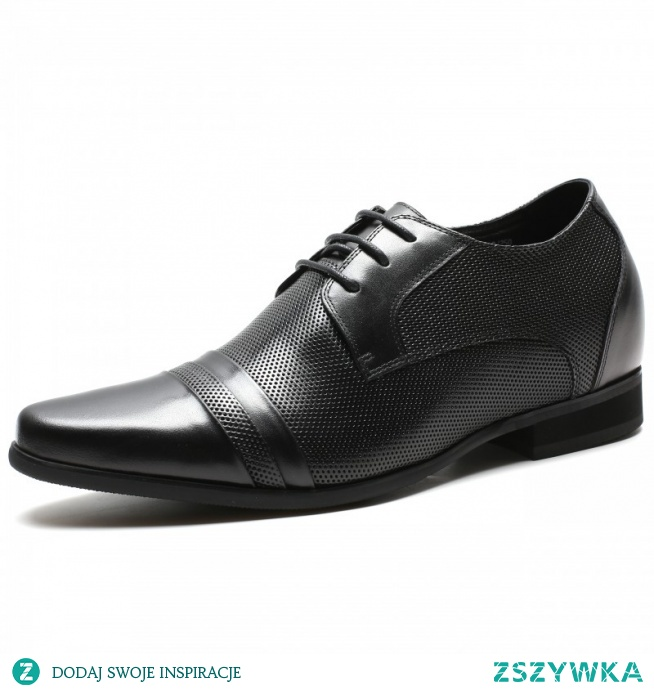 If you are a short man who finally wants to look taller, perforated leather elevator shoes 2.76 inches is an elegant model for you!