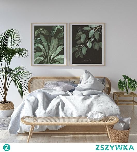 Zestaw grafik botanicznych   50x70 cm