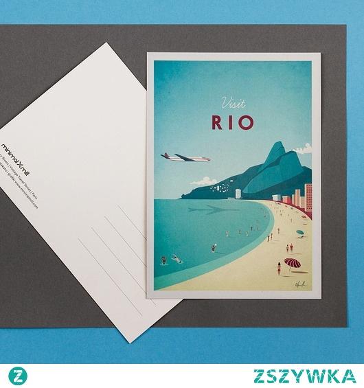 Rio de Janeiro - retro pocztówka