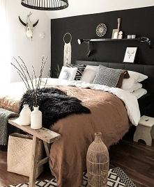 sypialnia skandynawska