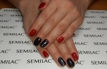 Semilac 026, 031, Neonail v...