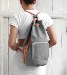 worek plecak fluo - grey&am...
