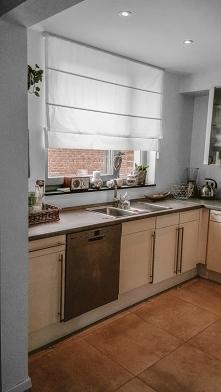 Okno w kuchni Pani Kasi dek...