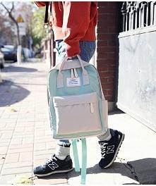 Piękne plecaczki vintage
