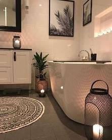 Romantyczna łazienka, dodatki