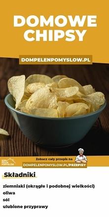 Chrupiące domowe chipsy z z...