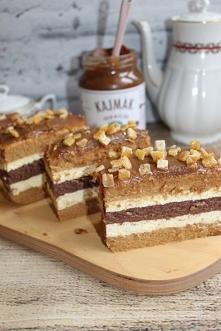 Ciasto krówka z kakaowym wn...