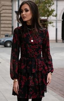 Roco Kobieca sukienka w róż...