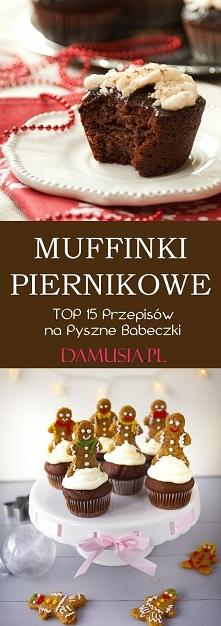 Muffinki Piernikowe – TOP 1...