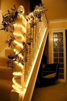 Wąż LED - pomysł na świątec...